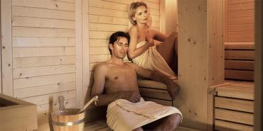 Spa mit Finnische Sauna, Türkische Sauna und Infrarotkabine - Christophs Hotel Schenna bei Meran in Südtirol