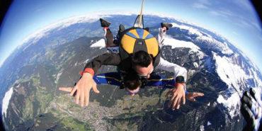 Fallschirmspringen in Südtirol - nur für die Wagemutigen!
