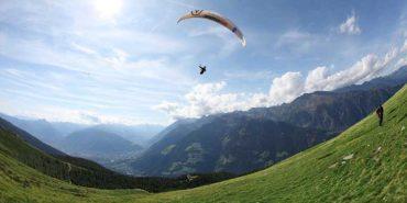 Im Tandemflug über die schönsten Gipfel und Taler Südtirols