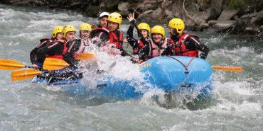 Rafting-Tour in der Umgebung von Meran in Südtirol erleben!