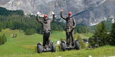 Segway Touren durch die Natur und Landschaft Südtirols
