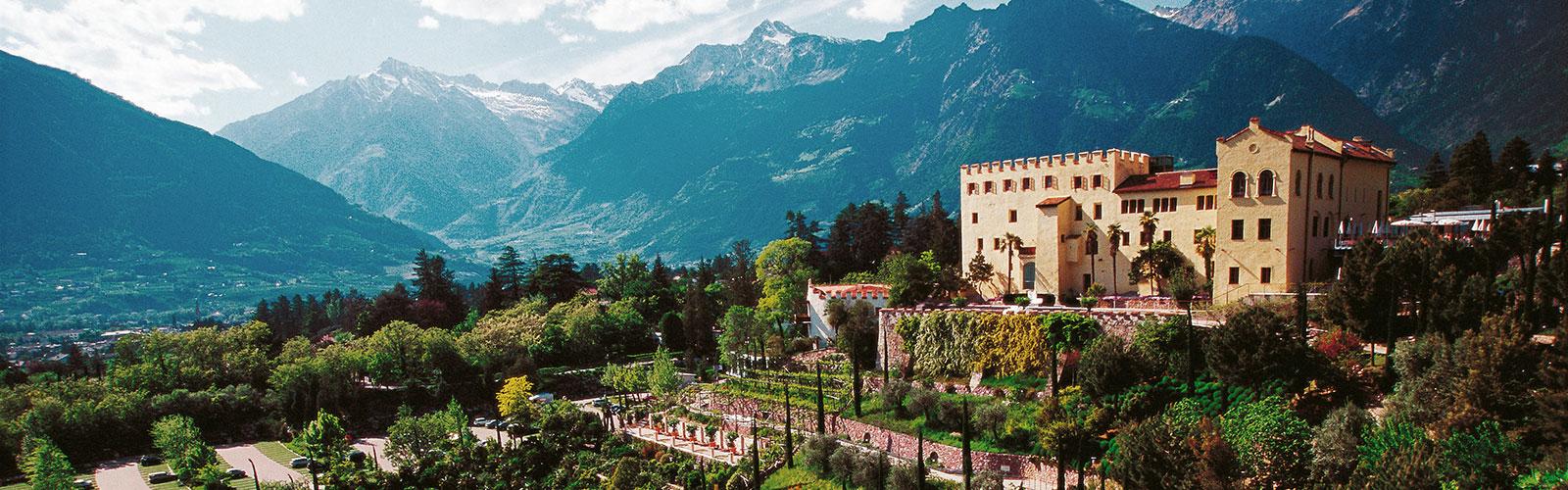 Giardino Botanico Castel Trauttmansdorff A Merano