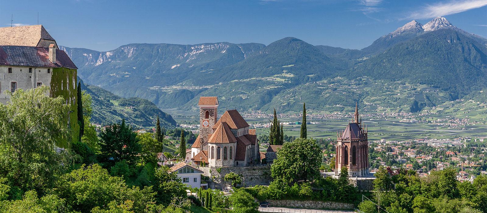 Sehenswürdigkeiten in Schenna bei Meran in Südtirol